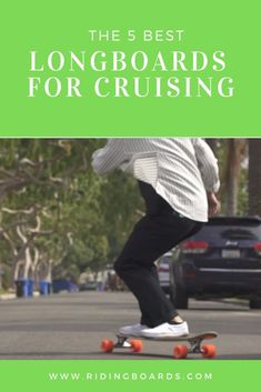 There are several common styles of longboard cruising including:  - Boardwalk cruising - City cruising - Distance pushing  In this post, we take a close up look at 5 great cruising longboards and we discuss the type of cruising each is best suited for, and why.