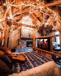 This cabin in Massachusetts (i.it) submitted by ensorcelling to /r/CozyPlaces 1 comments original - Architecture and Home Decor - Buildings - Bedrooms - Bathrooms - Kitchen And Living Room Interior Design Decorating Ideas - Cozy Cabin, Cozy House, Cabin Homes, Log Homes, Dream Rooms, Dream Bedroom, Cozy Room, Aesthetic Bedroom, House Rooms