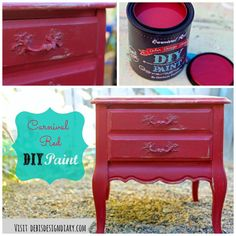 carnival red collage This paint is the bomb!! Oder it online here  http://heirloomtraditionspaint.com/?affiliates=194, or visit Fallbrook Vintage Village, Countryside Barn in Poway or Rustic Sparrow in Escondido. www.facebook.com/simplyshabbyinteriors