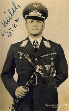 ✠ Erhard Milch (30 March 1892 – 25 January 1972) RK 04.05.1940 Generaloberst Chef Luftflotte 5 und Befh. Nord