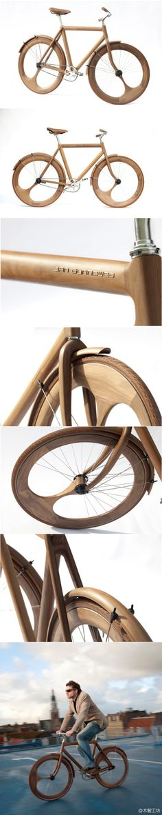 Wooden Bicycle - Jan Gunneweg.. i think it can go into woodturning Board :)