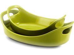 Green 2-pc. Stoneware Bubble  #holidaycooking