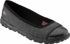 Skechers Women's Go Walk Presta. Loafer,Black,7.5 M US