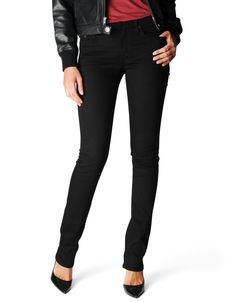 CORA - MID RISE STRAIGHT FIT WITH SIGNATURE BACK POCKET FLAPS - True Religion