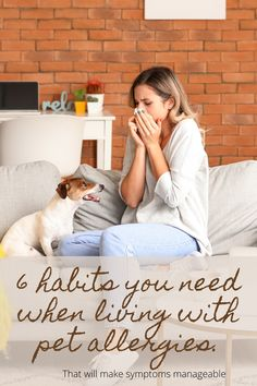 After being tested for a whole BUNCH of allergens, pet dander was one of the BIGGEST reactions I had based on the skin test. I had always owned a dog and didn't realize the effect it was having on my health. When I started doing these 6 things, I started feeling wayyyy better! Dog House Kit, Dog Food Delivery, Living With Dogs, Pet Allergies, Pet Dander, Cold Night, Healthy Pets, Now What, Kit Homes