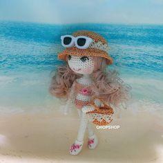 #muffinthedoll #crochetdoll #crochet #crochetdolls#amigurumi #handicraft #handmade #tiny#toy#toystagram #cute #craft#kawaii #ohopshop