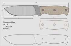Knife Template, Knife Shapes, Diy Knife, Knife Patterns, Blacksmith Forge, Handmade Knives, Fixed Blade Knife, Custom Knives, Knife Making