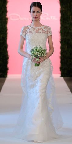 Oscar de la Renta's Spring 2015 Bridal Collection - Oscar de la Renta from #InStyle