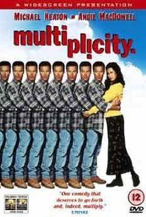 Multiplicity (1996), with Michael Keaton & Andie MacDowell. My new fav Keaton movie. Funny I'd never seen it til now. Beetlejuice would be my 2nd fav.