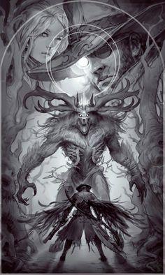 anton lavrushkin - Bloodborne