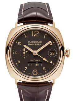 Мужские часы Officine Panerai Radiomir 10 Days GMT Limited Edition 250 PAM 00497