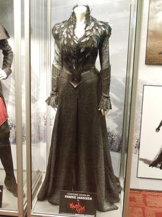 "Costume worn by famke Jansen in "" hansel and gretel"" quite elegant and beautiful for an evil witch!"