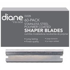 Diane Stainless Steel Polymer Coated Shaper Blades - 60 Blades #D22B $29.95 FREE SHIPPING Visit www.BarberSalon.com One stop shopping for Professional Barber Supplies, Salon Supplies, Hair & Wigs, Professional Product. GUARANTEE LOW PRICES!!! #barbersupply #barbersupplies #salonsupply #salonsupplies #beautysupply #beautysupplies #barber #salon #hair #wig #deals #sales #shaperblade #diane #d22b #freeshipping