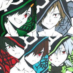 Manga Art, Anime Art, Kagerou Project, Actors, Chara, Vocaloid, Supernatural, Otaku, Fanart