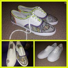 DIY Shoes super cute!