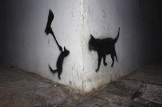 Street art in Kalamata,Greece. Photo byGeorge Venios. From www.streetartutopia.com