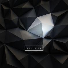 Really cool poster for Refined: OSU Senior Graphic Design Portfolio Exhibition