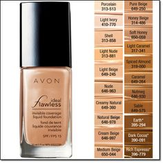 Image result for avon ideal flawless foundation