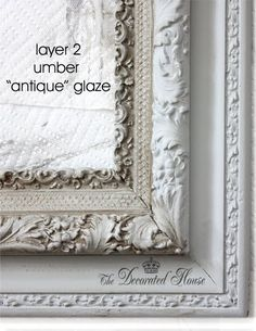 The Decorated House :: How to Glaze and do Wet Distressing with Chalk Paint