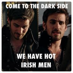 hhahhahaa LOL #OUAT #onceuponatime #colin #hook #hot #funny