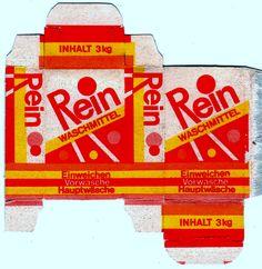 REIN Waschmittel - Washpowder