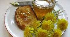 Dandelion Jelly - Made this and added orange and lemon.Very recommanded! - Dandelion Jelly – Made this and added orange and lemon.Very recommanded! Beltane, Farfalle Recipes, Healthy Cooking, Healthy Recipes, Endive Recipes, Actifry Recipes, Jucing Recipes, Sauces, Dandelion Jelly
