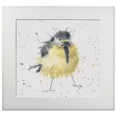 Hannah Dale - A Little Birdie, Print, Signed & Mounted, 40x40cm