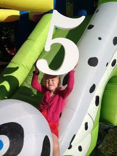 Big numbers for kids birthdays