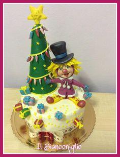 Carla Poggianti #cakedesign #natale #Christmas