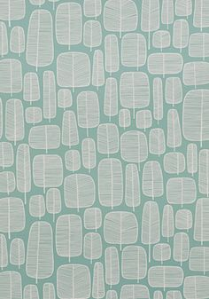 Little Trees Aquamarine | PaperRoom