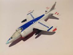 Matchbox SB 27, Harrier Jet, 'Marines' Markings, 1980 By Lesney Products - http://www.matchbox-lesney.com/?p=10744