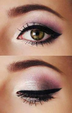 Purple, Champagne Winged Black Eye Liner Tip | AmazingMakeups.com