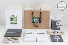 Photoshop Packaging Templates for Photographers - Wedding, Portrait, Engagement, Pets | Design Aglow