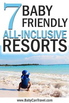 Need a real holiday? Don't miss these amazing baby and toddler friendly all inclusive resorts! Some of them even include a nanny assigned to your family for the duration of your stay! #babytravel #toddlertravel #allinclusive #mexico #dominicanrepublic #jamaica #turksandcaicos Traveling With Baby, Travel With Kids, Toddler Travel Activities, Flying With A Baby, Mexico Resorts, All Inclusive Resorts, Travel Essentials, Jamaica, Travel Destinations