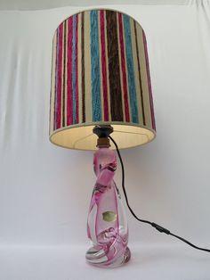 Online veilinghuis Catawiki: Val St. Lambert - kristal tafellamp