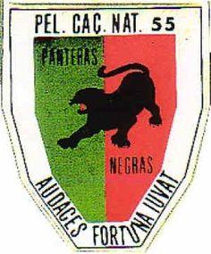Pelotão de Caçadores Nativos 55 Guiné Ferrari Logo, Logos, War, Ferrari Sign, Logo