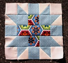 Star Crossed quilt block tutorial - new on the blog today by Don't Call Me Betsy, via Flickr