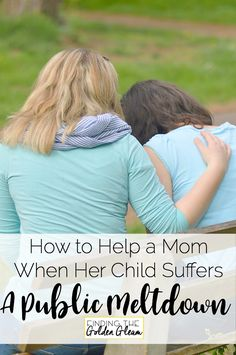 How to Help Another Mom When Her Child Has a Public Meltdown