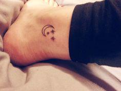 Moon tattoo: Femininity Astrology Magic Fertility Creativity Growth Energy Time Expulsion of negative energy