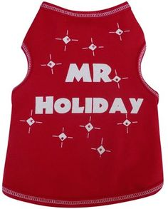 I See Spot Mr. Holiday Pet Dog Tank T-shirt in Red *** Insider's special review you can't miss. Read more  (This is an amazon affiliate link. I may earn commission from it)