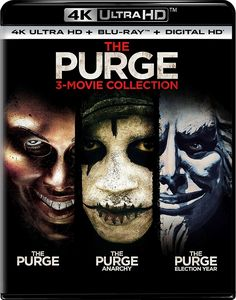 The Purge: 3-Movie Collection 4K Blu-ray