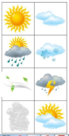 144 Cute Weather 30 mm Reward Stickers for School Teachers, Parents