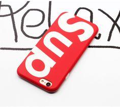 iphone7/6sケース 欧米ファッションsupremeマット素材アイフォン7/6plusケースハード携帯カバー個性的おしゃれレッド赤