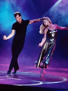 The amazing Patrick Swayze and his wife Lisa
