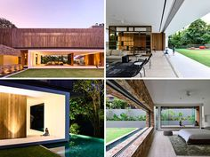 Architecture firm ONG&ONG have designed this home in Singapore that makes the most of indoor/outdoor living.