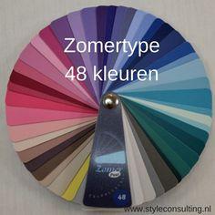 Informatie, kleuren, kleren, make-up en kenmerken zomertype | Style Consulting