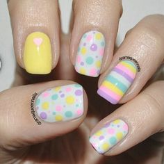 Cute Nail Art Designs For Short Nails1