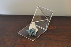 glass Pyramid Display Box by ABJglassworks