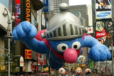Past and present: balloons of Macy's Thanksgiving Day Parade  ELLO EVY BODY
