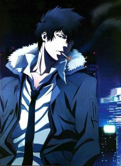 Kogami Shinya / PSYCHO-PASS(2012). His swagger really comes through in this picture. Loving it.